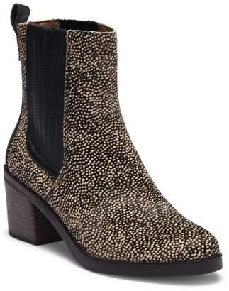 UGG Camden Exotic Genuine Calf Hair Block Heel Boot