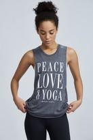 Spiritual Gangster Peace Love & Yoga Coachella Tank
