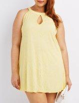 Charlotte Russe Plus Size Lace Sleeveless Shift Dress