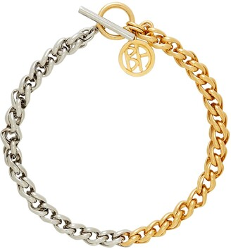 Ben-Amun Asteriod Mixed Chain-Link Necklace