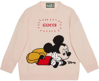 Gucci x Disney Mickey crew neck jumper
