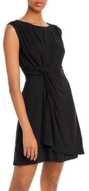 Tommy Bahama Sleeveless Twist-Front Dress