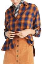 Madewell Women's Westward Ardan Plaid Shirt