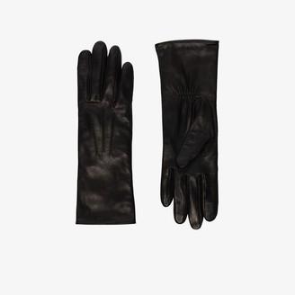 Agnelle black Grace leather gloves