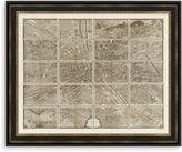 Bed Bath & Beyond Paris Map Grid Framed Art