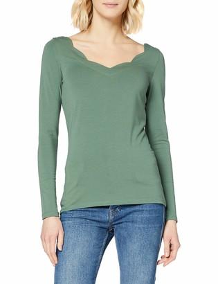 Esprit Women's 129ee1k048 Long Sleeve Top