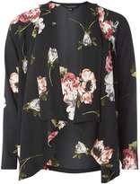 Dorothy Perkins Black Floral Cover Up