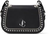 Jimmy Choo Small Leather Stud-Embellished Varenne Cross-Body Bag