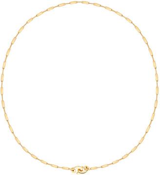 GABIRIELLE JEWELRY Gold Over Silver Handcuff Lock Chain Necklace