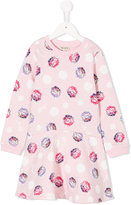 Kenzo floral printed pleated dress