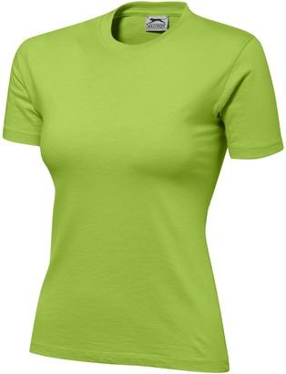 Slazenger Womens/Ladies Ace Short Sleeve T-Shirt (XL) (Apple Green)