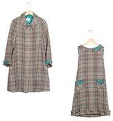 Helena Girls' Tweed A-Line Dress Set