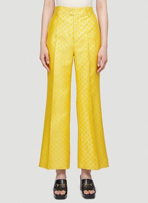 Gucci GG Lame Wide Pants