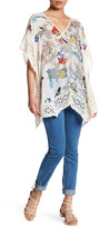 Johnny Was Floral Eyelet Tunic