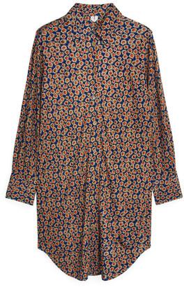 Arket Interlock Jersey Shirt Dress