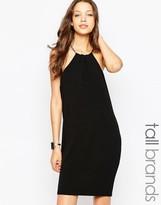 Vero Moda Tall Chain Halter Neck Mini Dress