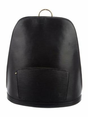 Louis Vuitton Epi Gobelins Backpack Black