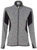 adidas A199 Golf Women's Space Dyed Full-Zip Jacket Black XL