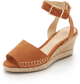 Schutz Geneva Wedge Espadrille Sandals
