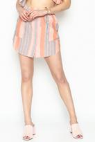 Honey Punch Stripe Skirt