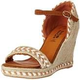 Molly Bracken Women's Z102p17 Heel strap brown Size: