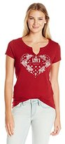 Levi's Women's Short Sleeve Split V Graphic Shirt