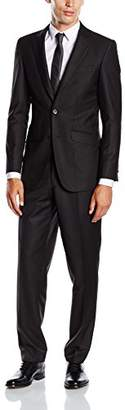 BlueBlack Men's Slim Fit Suit Rovigo,40 Long