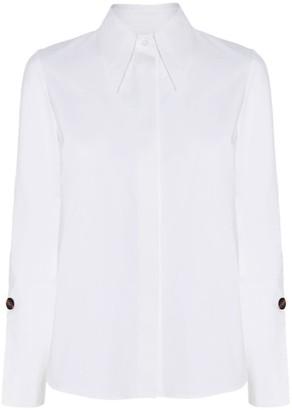 Diana Arno Olivia White Cotton Shirt