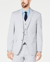 Alfani Red Men's Slim-Fit Performance Stretch Wrinkle-Resistant Light Gray Suit Jacket, Created for Macy's