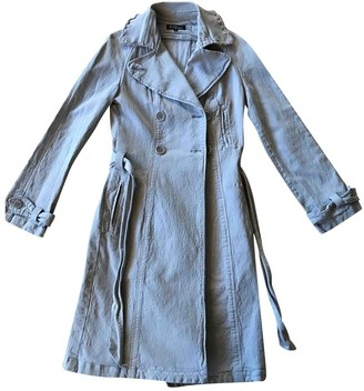 Etoile Isabel Marant Grey Cotton Trench Coat for Women