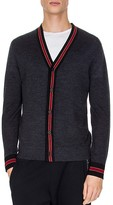 The Kooples Tricolor Knit Cardigan