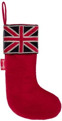 Harrods Small Union Jack Stocking