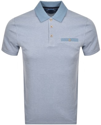 Ted Baker Carosel Polo T Shirt Blue