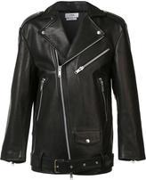 Cmmn Swdn oversized biker jacket