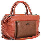 Oryany As Is Italian Grain Leather Satchel - Tanya