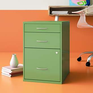 Hashtag Home Medrano 3 Drawer Vertical Filing Cabinet Hashtag Home