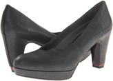 Oh! Shoes Raja (Black Glace Calf) - Footwear