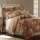Rose Tree Durham Reversible Queen Comforter Set in Coral