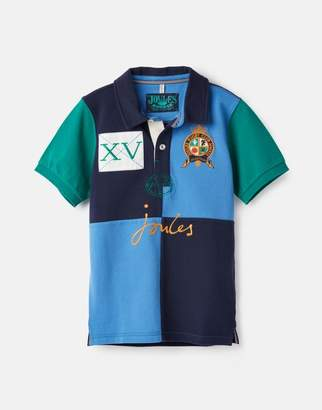 Joules Harry Cut And Sew Embelished Polo 3-12 Years