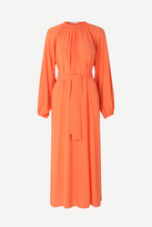 Samsoe & Samsoe Samsoesamsoe SamsoeSamsoe - Kaia long dress , Bright Coral - s/36 | viscose | coral - Coral