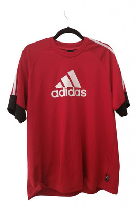 adidas Red Polyester T-shirts
