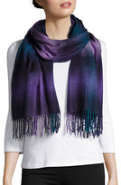 Lord & Taylor Fringe Wrap Scarf