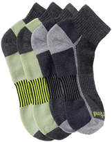 Timberland Outdoor Multi-Purpose Low Quarter Socks - Pack of 4