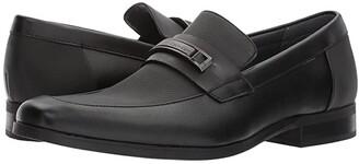Calvin Klein Jameson (Black Soft Leather/City Emboss) Men's Shoes
