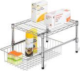 Honey-Can-Do Adjustable Shelf + Under Cabinet Organizer
