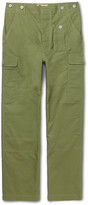 Nigel Cabourn - Wide-leg Cotton-ripstop Cargo Trousers