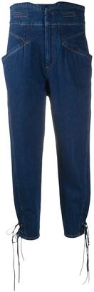 Isabel Marant Nubaia high-waist jeans