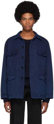 Blue Blue Japan Indigo Sashiko Hand-Dyed Jacket