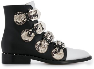 Givenchy Multi-Strap Ankle Boots
