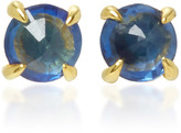 Ila Clarence 14K Gold Sapphire Earrings
